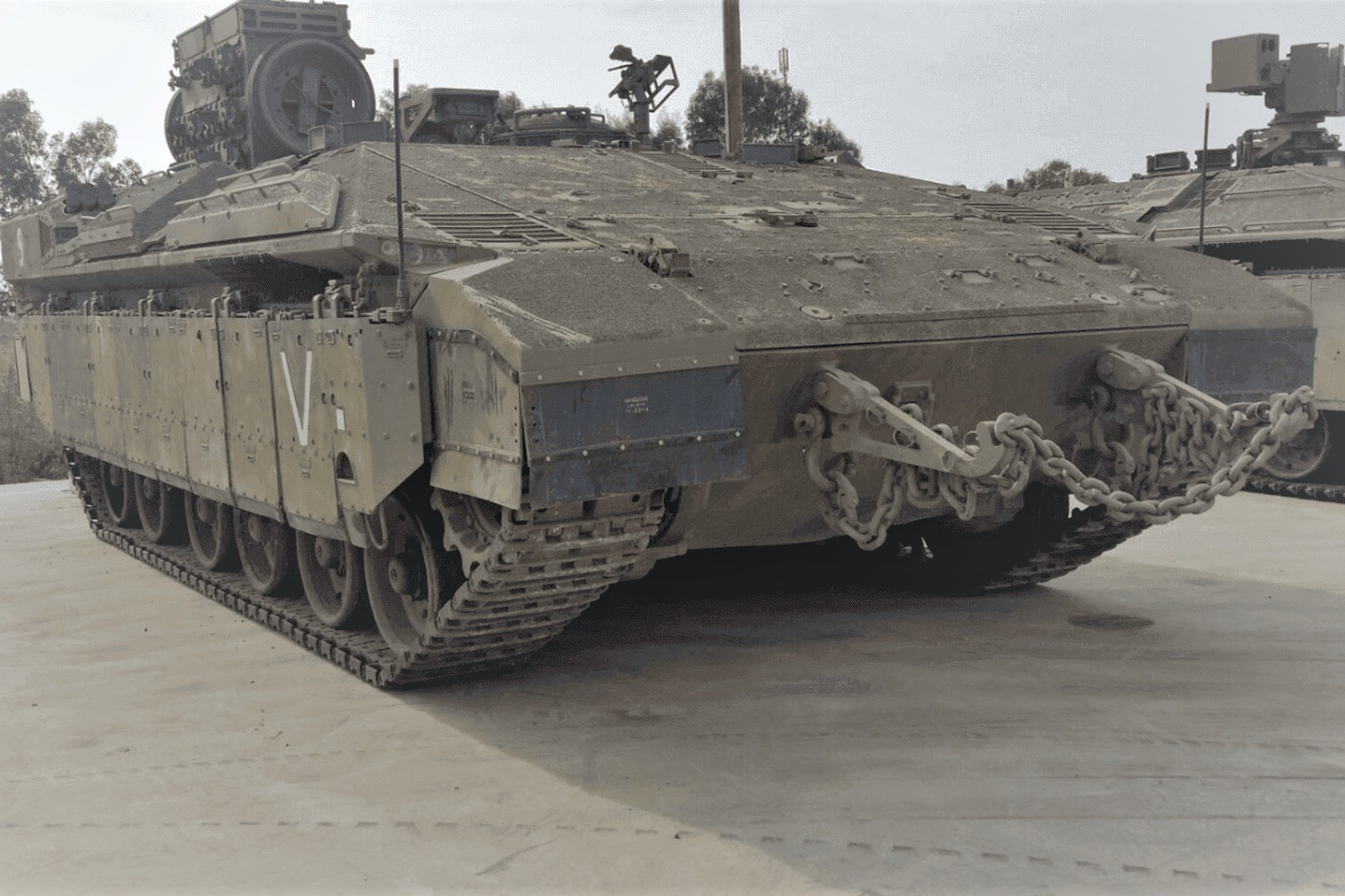 When the U.S. Army decided to build a road, testing and repair pavement for heavy tanks in Israel, they were looking for a partner capable of creating a tough and long lasting surface, while solving the perennial problem of steel tracks damaging concrete joints. The task was not easy as tanks are probably the heaviest vehicles with a weight of 60 to 80 tons and sharp steel tracks prone to creating problems for any surface they drive on.